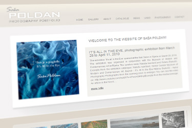 Saša Poldan website