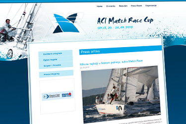 ACI Match Race 2010 website