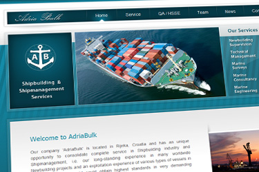 Adria Bulk website