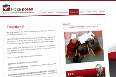 Fit za posao website