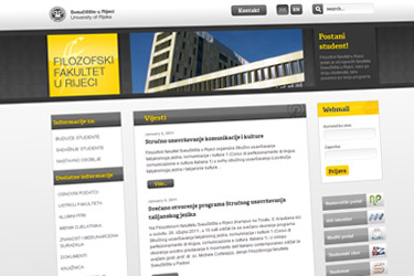 Filozofski Fakultet website