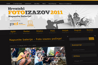 Foto Izazov website